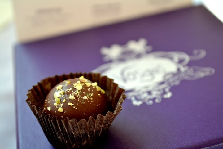 Chilli-Dark Chocolate Truffle From Vosges
