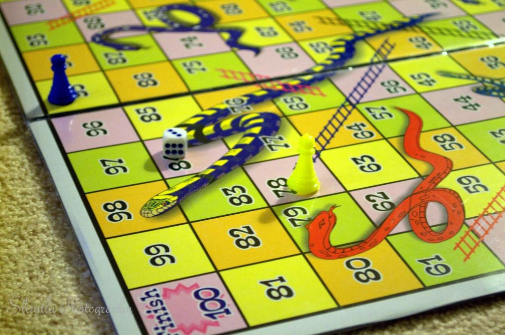 Snakes & ladder Game